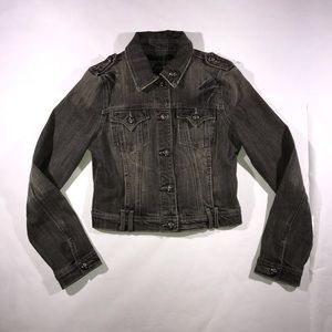Miss me denim black jean jacket